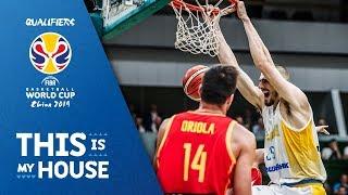 Ukraine v Spain - Highlights - FIBA Basketball World Cup 2019 - European Qualifiers