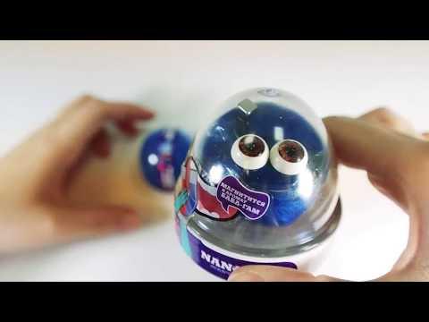 Жвачка для Рук NANO GUM «Магнитный с Ароматом БаблГам» 25 гр.