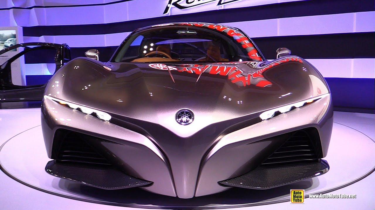 Yamaha Sports Ride Concept Car – Exterior Walkaround – Debut at 2015 Tokyo Motor Show