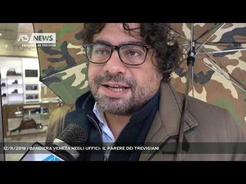 12/11/2019 | BANDIERA VENETA NEGLI UFFICI: IL PARERE DEI TREVIGIANI