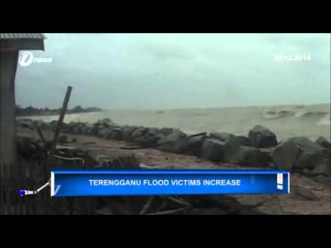Floods Banjir | Terengganu Flood Victims Increase