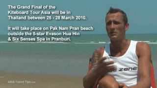 Kiteboard Tour Asia 2010 Thailand - Willy Kerr Interview