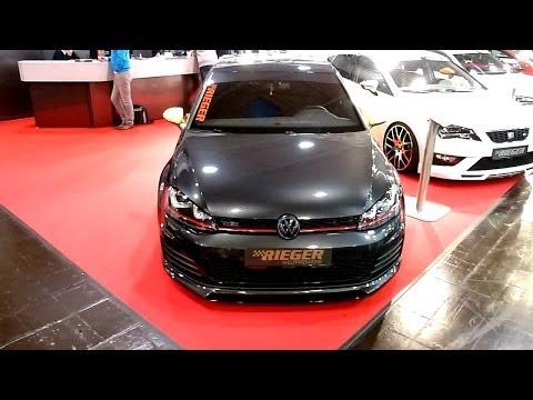 VW GOLF 7 GTI – RIEGER TUNING Weltpremiere [ESSEN-MOTORSHOW 2013]