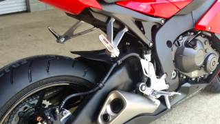 9. 2015 Honda CBR1000RR Sport Bike Walk Around Video