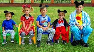 Video Cinco monitos saltaban en la cama | Canciones infantiles | LETSGOMARTIN MP3, 3GP, MP4, WEBM, AVI, FLV Agustus 2018