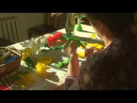 Stanisława Latowska kwiaty z bibuły