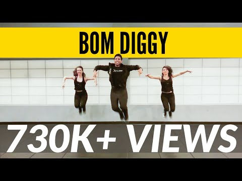 Bom Diggy | Zack Knight X Jasmin Walia | Bollywood Workout