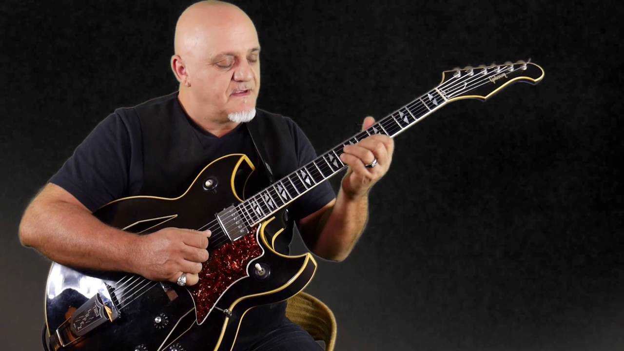Frank Gambale Guitar Performance Video –  Magritte
