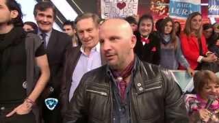 Showmatch 2014  �LO TIENEN DE HIJO Las cargadas de Maestruli y Tinelli a Navarrete