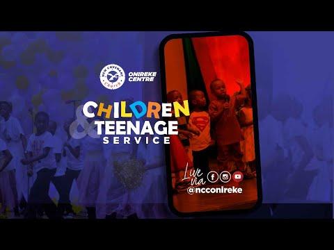 Children/Teenager's Service 11102020