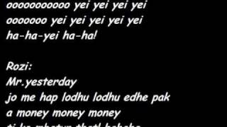 Noizy Ft Rozana Radi Mr Yesterday Lyrics (tekst).flv