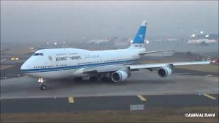 Nonton Kuwait Airways 747-400 Beautiful Taxi, Takeoff and from Mumbai Airport Film Subtitle Indonesia Streaming Movie Download