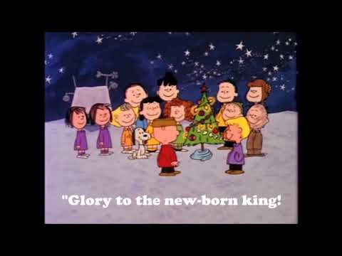 Hark The Herald Angel Sings-A Charlie Brown Rendition