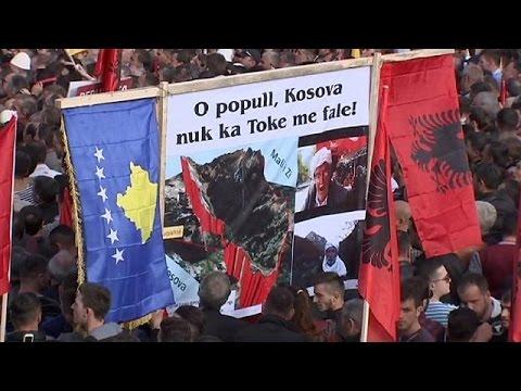 Κόσοβο: Μαζική αντικυβερνητική διαδήλωση στην Πρίστινα