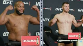 UFC 241 Weigh-Ins: Daniel Cormier, Stipe Miocic Make Weight - MMA Fighting by MMA Fighting