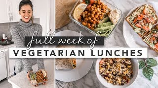 Video Healthy Vegetarian Lunch Ideas From Monday to Friday | by Erin Elizabeth MP3, 3GP, MP4, WEBM, AVI, FLV Maret 2019