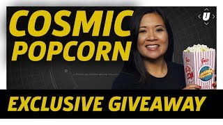 For the last three months, we've been hiding Cosmic Popcorn in our videos as an easter egg -- or easter popcorn -- for our viewers. Now we're giving you the chance to win an exclusive 2017 SDCC Cosmic Popcorn t-shirt while supplies last. Good luck!https://www.gamespot.com/articles/comic-con-2017-exclusive-gamespot-universe-t-shirt/1100-6451634/?ftag=GSS-05-10aaa0bSubscribe to GameSpot Universe! http://youtube.com/GameSpotUniverse?sub_confirmation=1Follow Us - http://twitter.com/GSUniverseLike Us - http://facebook.com/GameSpotUniversehttp://www.gamespot.com