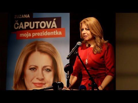 Σλοβακία: Θρίαμβος Τσαπούτοβα στον πρώτο γύρο των εκλογών…