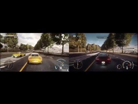 Need  For  Speed  Edge Vs  Need  For  speed  Rivals
