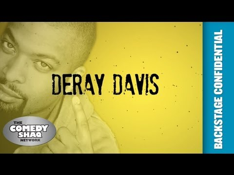 Deray Davis⎢Backstage Confidential Up Close and Personal⎢Episode 7⎢Comedy Shaq