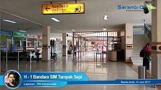 H-1 Bandara Sultan Iskandar Muda Sepi