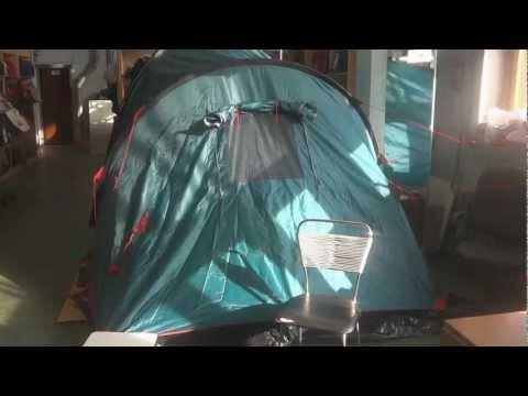 Відеоогляд кемпінгової палатки Tramp Brest 6