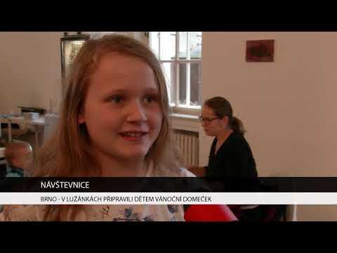 TV Brno 1: 19.12.2017 V Lužánkách připravili dětem vánoční domeček