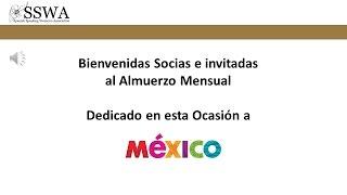 SSWA dio apertura a las actividades del segundo semestre del año con gastronomía mexicana