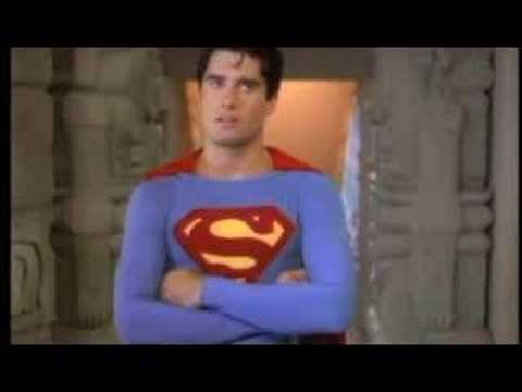 Superboy defeated by Lex (TV series)