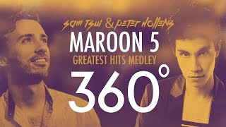 Video 360°A Cappella MAROON 5 Medley!!! (Sam Tsui + Peter Hollens) | Sam Tsui MP3, 3GP, MP4, WEBM, AVI, FLV Juli 2019