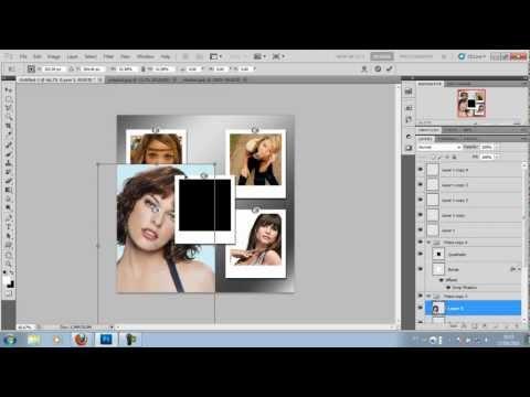 Criando painel de fotos com Photoshop cs5