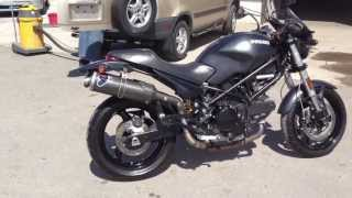 7. 2008 DUCATI MONSTER 695 TERMIGNONI DUAL CARBON FIBER EXHAUST