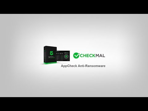CheckMAL AppCheck Anti Ransomware (free) Tested!