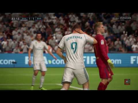 Fifa 18 Ps4 (gameplay): Clasico Español