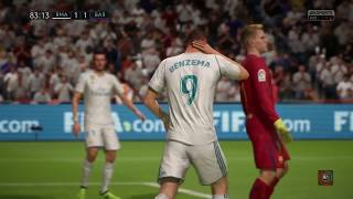 fifa 18 ps4 (gameplay): Clasico Español