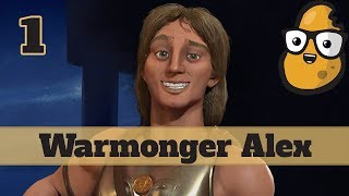 Video Civ 6 Macedon Ep. 1 Let's Play - Warmonger Alexander MP3, 3GP, MP4, WEBM, AVI, FLV Januari 2018