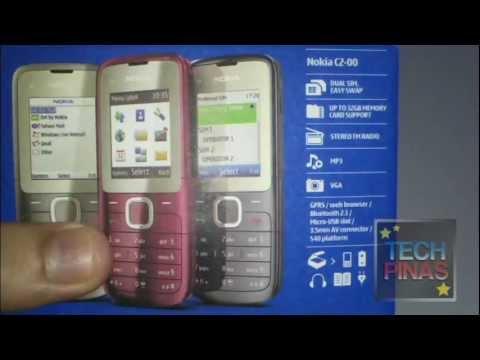 Youtube Video Nokia C2-00 snow white