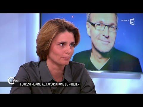 Privée d'ONPC, Caroline Fourest réagit aux propos de Laurent Ruquier - C à vous - 12/05/2015