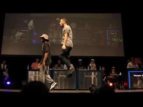 Waydi & Rochka Vs Takuya & U-KI BEST4 / WDC 2016 FINAL HIPHOP SIDE