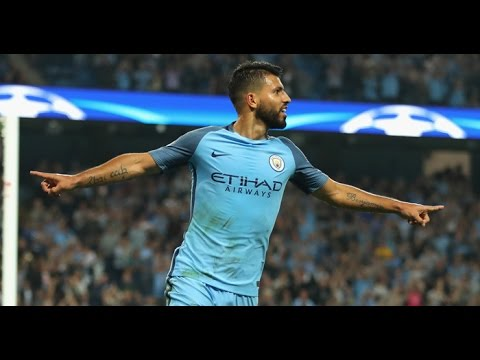 Manchester City vs Borussia M'gladbach 4-0 GOLES ALL GOALS UCL 2016