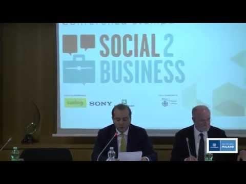 La presentazione del Social 2 Business 2014