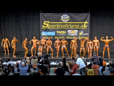 WFF Worlds 2012 - Juniors Comparisons & Posedown