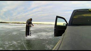 Dryden (ON) Canada  City new picture : Canada Ice fishing Walleye: Dryden Ice Road, Lake Wabigoon