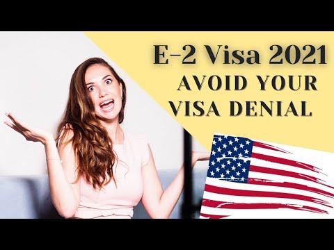 E2 Visa 2021: 3 Mistakes To Avoid When Applying for E2 Investor Visa to the USA