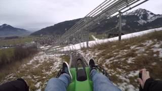 Kaprun Austria  city pictures gallery : Luge/Toboggan Ride In Kaprun, Austria