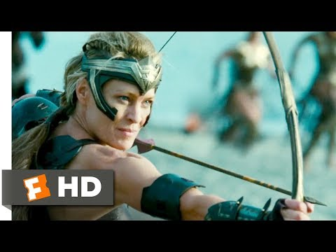 Wonder Woman (2017) - War Comes to Themyscira Scene (2/10) | Movieclips