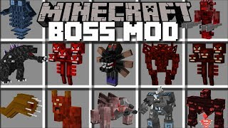 Video Minecraft BOSS MOD / FIGHT AND SURVIVE BOSSES BATTLES!! Minecraft MP3, 3GP, MP4, WEBM, AVI, FLV Juli 2019