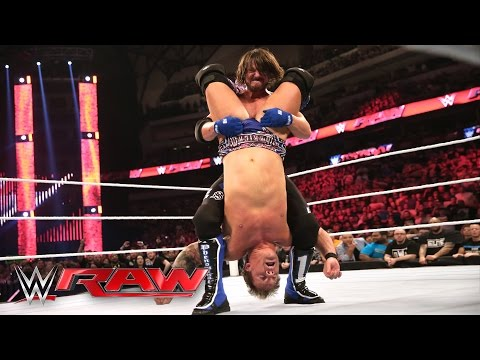 WWE World Heavyweight Championtitel Nr. 1 Herausforderer Fatal 4 Way Match: Raw, 4. April 2016