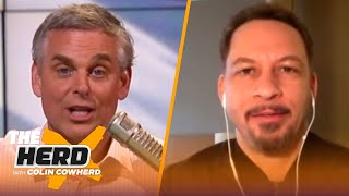 Re-seeding NBA playoffs would be ideal, talks 'The Last Dance' – Chris Broussard | NBA | THE HERD by Colin Cowherd