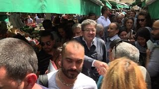 Video Législatives : Mélenchon en campagne sur un marché de Marseille MP3, 3GP, MP4, WEBM, AVI, FLV November 2017